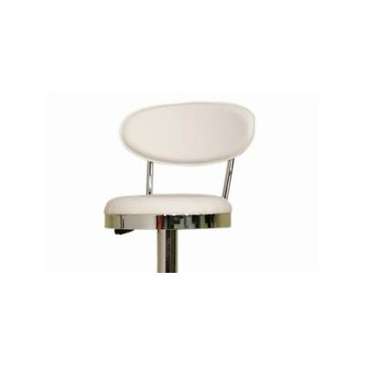 Chardonnay Adjustable Height Swivel Bar Stool with Cushion by Wholesale Interiors