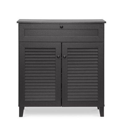 Calvin 2 Door Shoe Storage Cabinet by Wholesale Interiors
