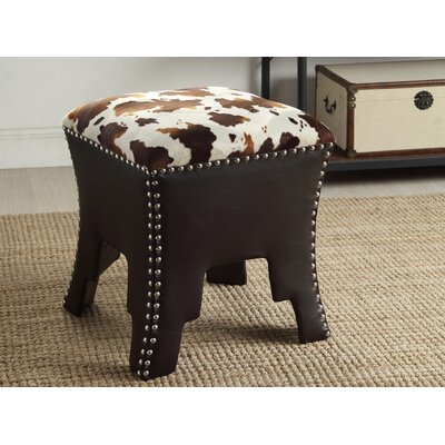 Baxton Studio Upholstered Accent Stool by Wholesale Interiors