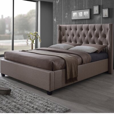 Baxton Studio Kensington King Platform Bed by Wholesale Interiors