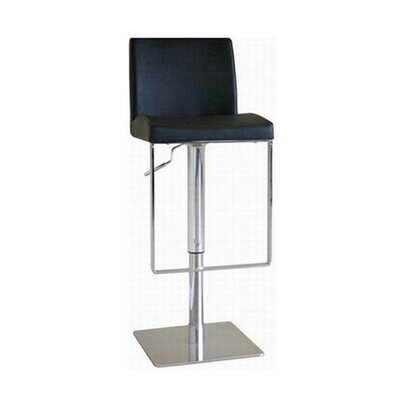 Adjustable Height Swivel Bar Stool with Cushion by Wholesale Interiors