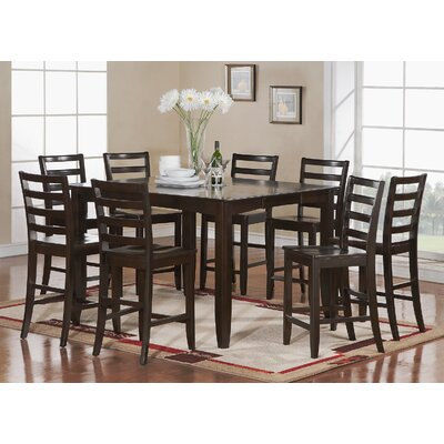 Fairwinds 9 Piece Counter Height Dining Set by East West