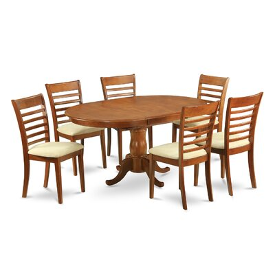 Portland 7 Piece Dining Set by East West