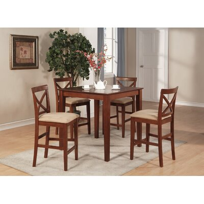 3 Piece Counter Height Dining Set by East West