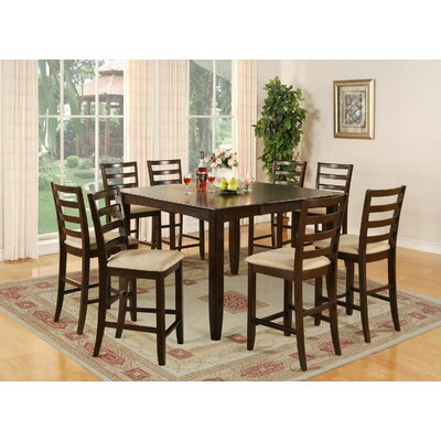 Fairwinds 5 Piece Counter Height Dining Set by East West