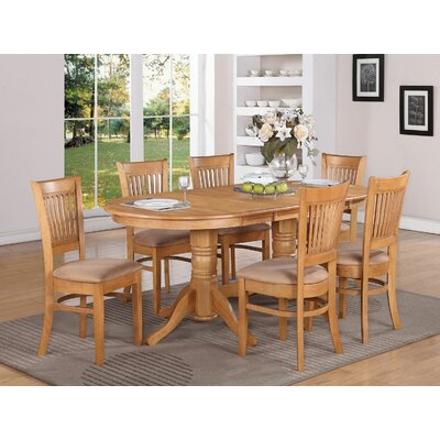 Vancouver 7 Piece Dining Set by East West