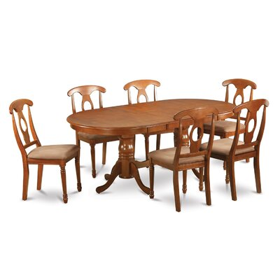Plainville 9 Piece Dining Set by Wooden Importers