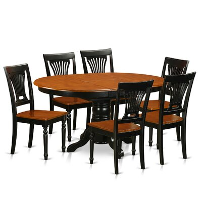 Avon 7 Piece Dining Set by Wooden Importers