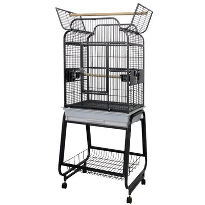 Victorian Open Play Top Bird Cage with Stand by A&E Cage Co.