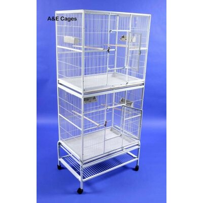 Double Flight Bird Cage by A&E Cage Co.