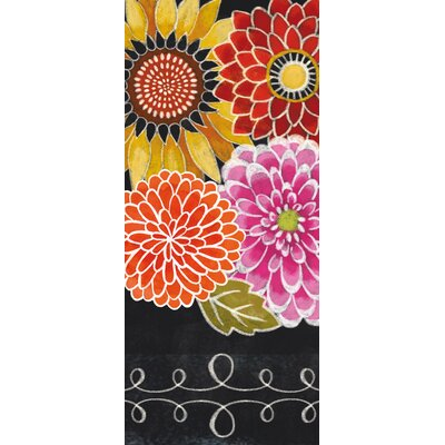 Blackboard Bouquet Tea Towel by Cypress