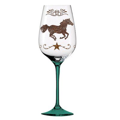 Cowboy Up! All Purpose Wine Glass by Cypress