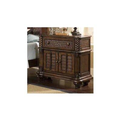 Palm Court II 1 Drawer Nightstand by Progressive Furniture