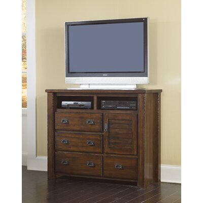 Progressive Furniture Inc. Trestlewood 4 Drawer Media Chest