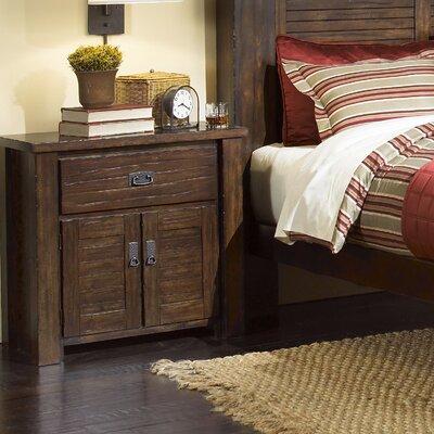 Trestlewood 1 Drawer Nightstand by Progressive Furniture