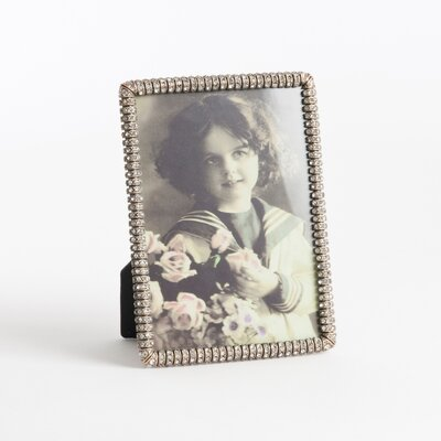 Jeweled Photo Picture Frame by Saro