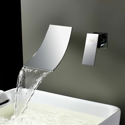 Single Handle Wall Mount Tub Faucet Product Photo