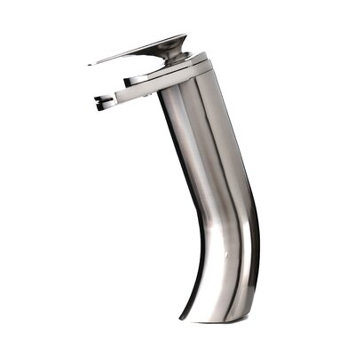 Single Handle Single Hole Vessel Waterfall Faucet Product Photo