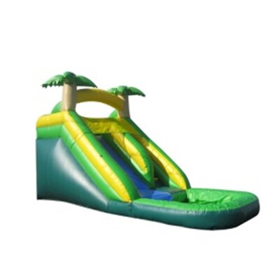Tropical Xtreme Wet/Dry Commercial Grade Inflatable Water Slide Product Photo