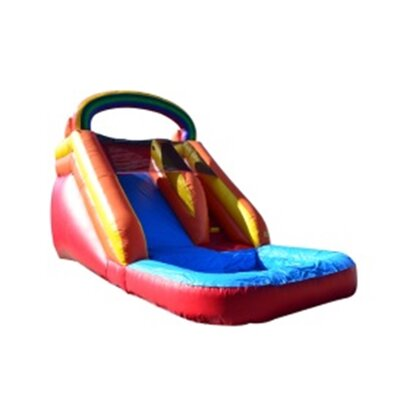 Rainbow Titan Wet/Dry Commercial Grade Inflatable Water Slide Product Photo