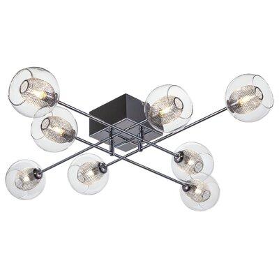 Estelle 8 Light Semi Flush Mount Product Photo