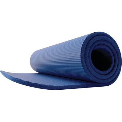 Deluxe Pilates Foam Mat by GoFit
