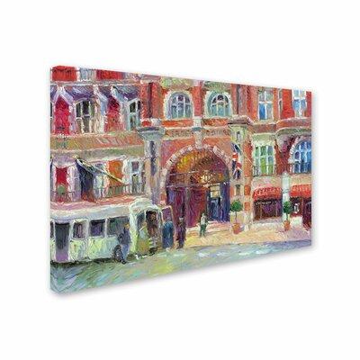 'London' by Richard Wallich Canvas Art by Trademark Art