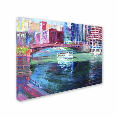 'Chicago 2' by Richard Wallich Canvas Art by Trademark Art