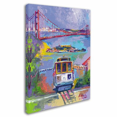 'San Francisco 2' by Richard Wallich Canvas Art by Trademark Art