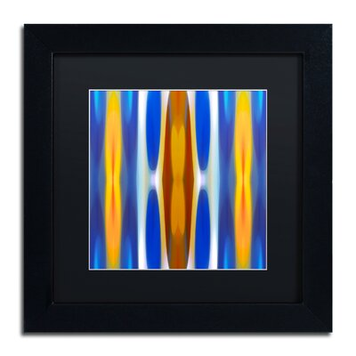 'Winter Forest Square 1' by Amy Vangsgard Framed Graphic Art by Trademark Art