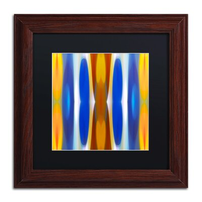 'Winter Forest Square 7' by Amy Vangsgard Framed Graphic Art by Trademark Art