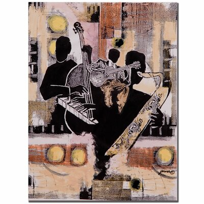 Trademark Fine Art Jam Session by Garner Lewis Painting Print on Canvas
