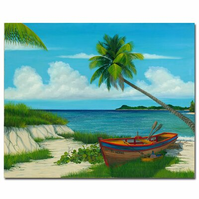 Trademark Fine Art 'El Morro' by Douglas Painting Print on Canvas
