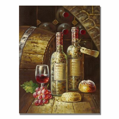 Trademark Fine Art 'Napa Valley II' by Rio Painting Print on Canvas
