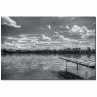 'Pier 7' by Philippe Sainte-Laudy Photographic Print on Canvas by Trademark Art
