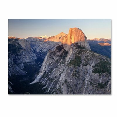 'Half Dome Yosemite' by Pierre Leclerc Photographic Print on Canvas by Trademark Art