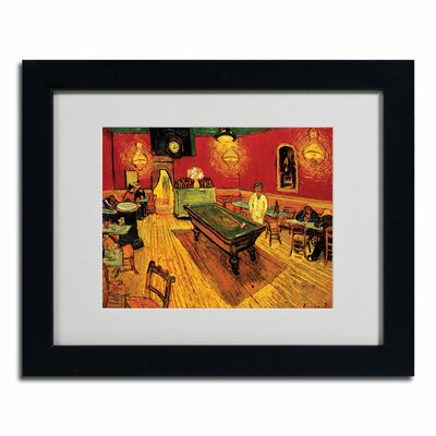 Night Cafe Canvas Art by Vincent van Gogh by Trademark Art