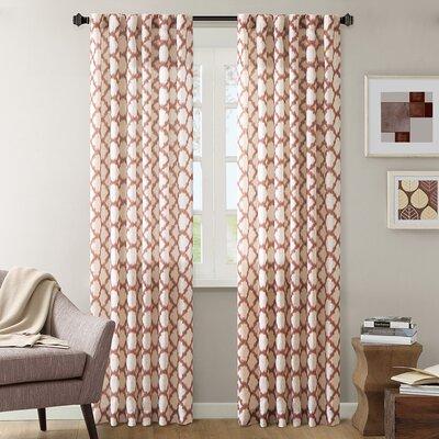 Nakita Linen Single Curtain Panel Product Photo