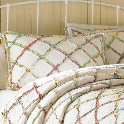 Ruffled Garden Standard Sham by Laura Ashley Home