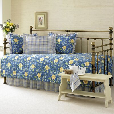 Emilie 5 Piece Twin Quilted Daybed Cover Set by Laura Ashley Home