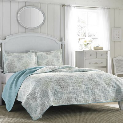 Saltwater Reversible Coverlet Set by Laura Ashley Home