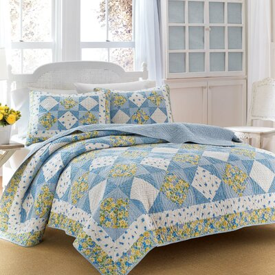 Grace Cotton Quilt by Laura Ashley Home