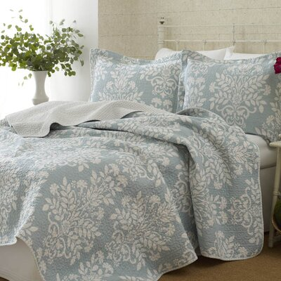 Laura Ashley Home Rowland Reversible Coverlet Set