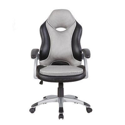 Series Two Tone High-Back Racer Executive Chair by Techni Mobili