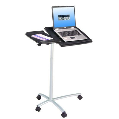 Techni Mobili Adjustable Laptop Cart