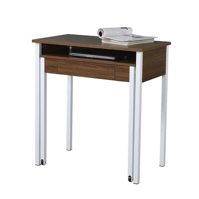 Techni Mobili Compact Retractable Computer Desk with Keyboard Tray