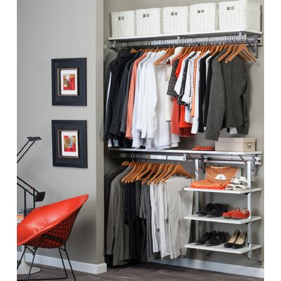 "Arrange A Space 11.75"" Deep Select Closet System Product Photo"