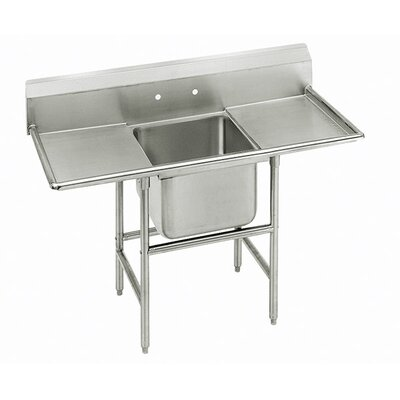Advance Tabco 930 Series Single Seamless Bowl Scullery Sink