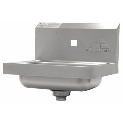 "Advance Tabco 17.25"" x 15.25"" Single Hand Sink"