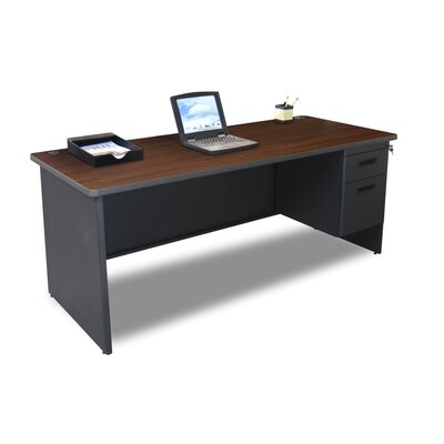 Marvel Office Furniture Pronto Executive Desk with Lock and 2 Right Drawers